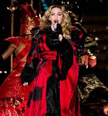 Madonna setlists